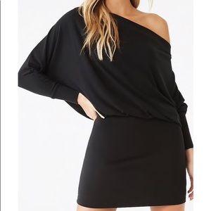 Forever 21 Off Shoulder Sweater Dress